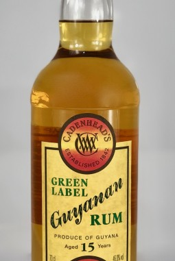 Green Label Guyanan 15yo