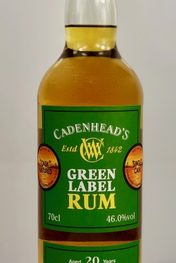 Green Label Rum Grenada 20yo 46.0