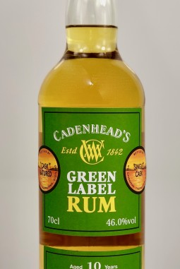 Green Label Rum Jamaican 10yo 46.0
